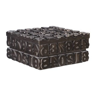 Link to Uttermost Typesetting Antique Bronze Decorative Box Similar Items in Accent Pieces