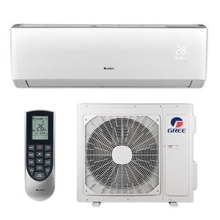 Gree LIVS24HP230V1B - 24,000 BTU 16 SEER LIVO+ Wall Mount Ductless Mini Split A/C Heat Pump 208-230V (A/C & Heater)