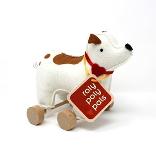 Jack Rabbit Creations Roly Poly Pals Felt Rolling Toy Doggie