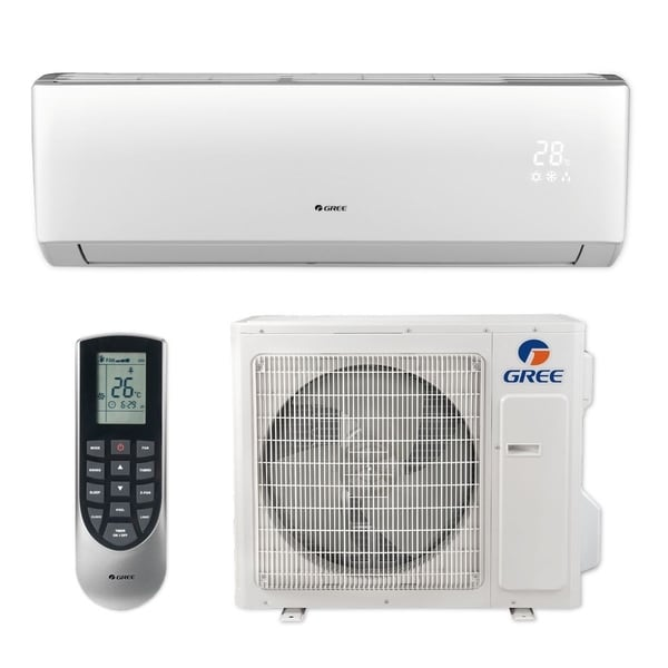 Gree LIVS36HP230V1B - 36,000 BTU 16 SEER LIVO+ Wall Mount Ductless Mini Split A/C Heat Pump 208-230V (A/C & Heater)