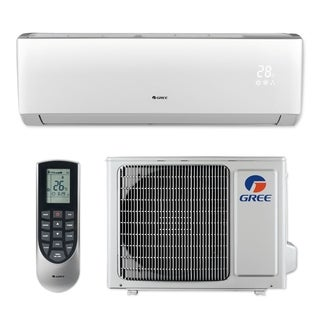 Gree LIVS09HP115V1B - 9,000 BTU 16 SEER LIVO+ Wall Mount Ductless Mini Split A/C Heat Pump 115V (A/C & Heater)