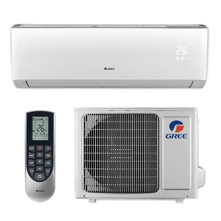 Gree LIVS12HP230V1B - 12,000 BTU 16 SEER LIVO+ Wall Mount Ductless Mini Split A/C Heat Pump 208-230V (A/C & Heater)