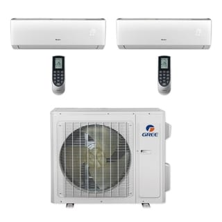 Gree MULTI24CLIV202 - 24,000 BTU Multi21+ Dual-Zone Wall Mount Mini Split A/C Heat Pump 208-230V (9-18) (A/C & Heater)