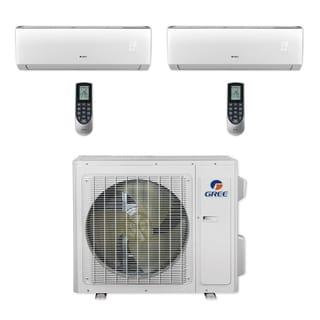Gree MULTI24CVIR201 - 24,000 BTU Multi21+ Dual-Zone Wall Mount Mini Split A/C Heat Pump 208-230V (9-12) (A/C & Heater)