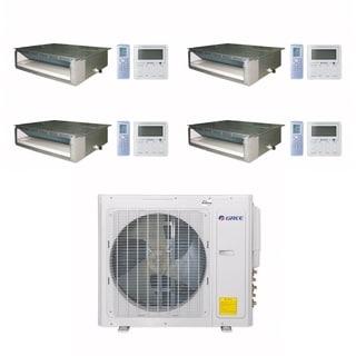 Gree MULTI30CDUCT401 - 30,000 BTU Multi21+ Quad-Zone Concealed Duct Mini Split A/C Heat Pump 208-230V (9-9-9-12) - A/C & Heater