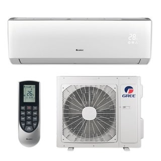 Gree LIVS18HP230V1B - 18,000 BTU 16 SEER LIVO+ Wall Mount Ductless Mini Split A/C Heat Pump 208-230V (A/C & Heater)