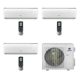 Gree MULTI24CLIV301 - 24,000 BTU Multi21+ Tri-Zone Wall Mount Mini Split A/C Heat Pump 208-230V (9-9-12) (A/C & Heater)