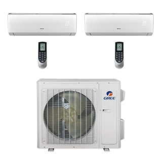Gree MULTI24CVIR202 - 24,000 BTU Multi21+ Dual-Zone Wall Mount Mini Split A/C Heat Pump 208-230V (9-18) (A/C & Heater)