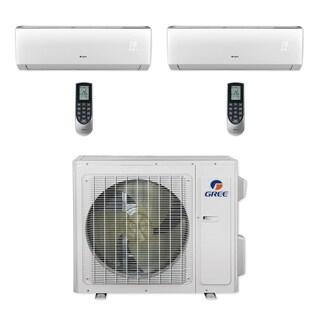 Gree MULTI24CVIR205 - 24,000 BTU Multi21+ Dual-Zone Wall Mount Mini Split A/C Heat Pump 208-230V (18-18) (A/C & Heater)