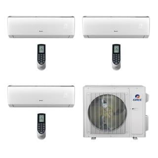 Gree MULTI24CVIR300 - 24,000 BTU Multi21+ Tri-Zone Wall Mount Mini Split A/C Heat Pump 208-230V (9-9-9) (A/C & Heater)