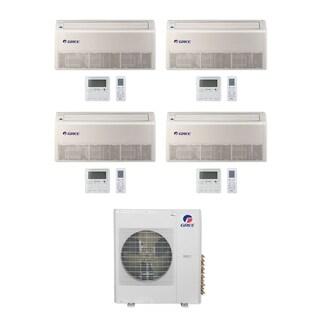 Gree MULTI36CFLR400 - 36,000 BTU Multi21+ Quad-Zone Floor/Ceiling Mini Split A/C Heat Pump 208-230V (9-9-9-9) - A/C & Heater