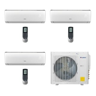 Gree MULTI30CVIR301 - 30,000 BTU Multi21+ Tri-Zone Wall Mount Mini Split A/C Heat Pump 208-230V (9-9-12) (A/C & Heater)