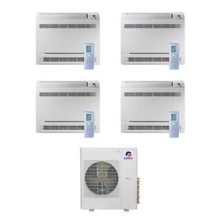 Gree MULTI36CCONS404 - 36,000 BTU Multi21+ Quad-Zone Floor Console Mini Split A/C Heat Pump 208-230V (9-9-12-18) - A/C & Heater