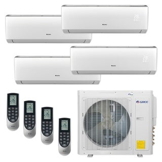 Gree MULTI30CLIV401 - 30,000 BTU Multi21+ Quad-Zone Wall Mount Mini Split A/C Heat Pump 208-230V (9-9-9-12) - A/C & Heater