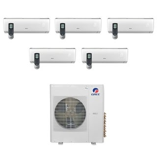 Gree MULTI36CLIV501 - 36,000 BTU Multi21+ Penta-Zone Wall Mount Mini Split A/C Heat Pump 208-230V (9-9-9-9-12) - A/C & Heater