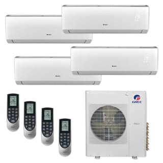 Gree MULTI36CLIV405 - 36,000 BTU Multi21+ Quad-Zone Wall Mount Mini Split A/C Heat Pump 208-230V (9-12-12-12) - A/C & Heater