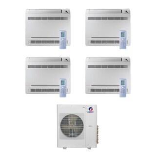 Gree MULTI42CCONS401 - 42,000 BTU Multi21+ Quad-Zone Floor Console Mini Split A/C Heat Pump 208-230V (9-9-9-12) - A/C & Heater