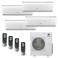 Gree MULTI36CLIV401 - 36,000 BTU Multi21+ Quad-Zone Wall Mount Mini Split A/C Heat Pump 208-230V (9-9-9-12) - A/C & Heater