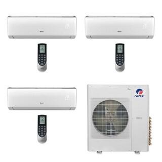 Gree MULTI42CLIV300 - 42,000 BTU Multi21+ Tri-Zone Wall Mount Mini Split A/C Heat Pump 208-230V (9-9-9) (A/C & Heater)