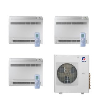 Gree MULTI42CCONS305 - 42,000 BTU Multi21+ Tri-Zone Floor Console Mini Split A/C Heat Pump 208-230V (9-12-18) - A/C & Heater