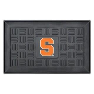 NCAA Syracuse University Medallion Door Mat 19 in. x 30 in.