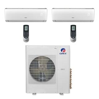 Gree MULTI36CLIV209 - 36,000 BTU Multi21+ Dual-Zone Wall Mount Mini Split A/C Heat Pump 208-230V (24-24) (A/C & Heater)