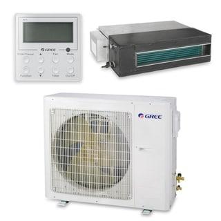 Gree UMAT18HP230V1AD-S - 18,000 BTU 16 SEER Concealed Duct Ductless Mini Split A/C Heat Pump 208-230V (A/C & Heater)