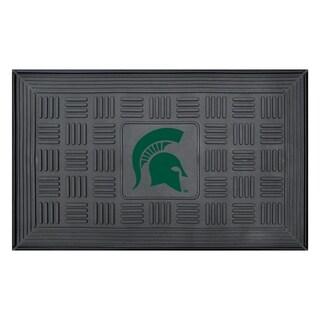 NCAA Michigan State University Medallion Door Mat 19 in. x 30 in.