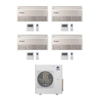 Gree MULTI42CFLR402 - 42,000 BTU Multi21+ Quad-Zone Floor/Ceiling Mini Split A/C Heat Pump 208-230V (9-9-9-18) - A/C & Heater
