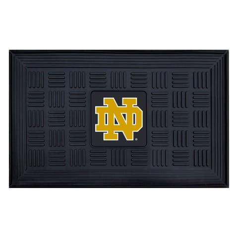 NCAA Notre Dame Medallion Door Mat 19 in. x 30 in.