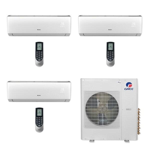 Gree MULTI36CVIR302 - 36,000 BTU Multi21+ Tri-Zone Wall Mount Mini Split A/C Heat Pump 208-230V (9-9-18) (A/C & Heater)