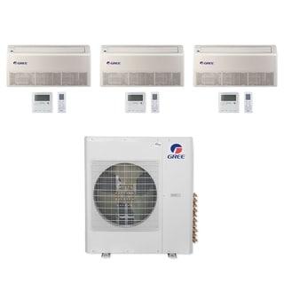 Gree MULTI42CFLR310 - 42,000 BTU Multi21+ Tri-Zone Floor/Ceiling Mini Split A/C Heat Pump 208-230V (12-12-24) - A/C & Heater