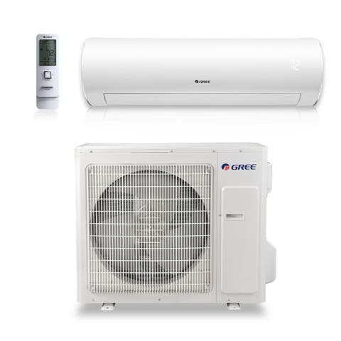 Gree SAP18HP230V1A - 18,000 BTU 24.5 SEER SAPPHIRE Wall Mount Ductless Mini Split A/C Heat Pump 208-230V (A/C & Heater)