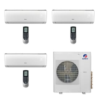 Gree MULTI42CLIV308 - 42,000 BTU Multi21+ Tri-Zone Wall Mount Mini Split A/C Heat Pump 208-230V (12-12-12) - A/C & Heater
