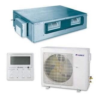 Gree UMAT36HP230V1AD-S - 36,000 BTU 16 SEER Concealed Duct Ductless Mini Split A/C Heat Pump 208-230V (A/C & Heater)