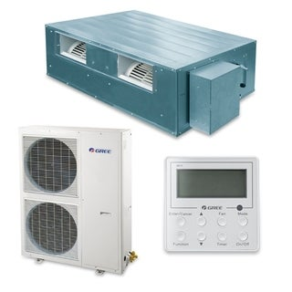 Gree UMAT48HP230V1AD-S - 48,000 BTU 16 SEER Concealed Duct Ductless Mini Split A/C Heat Pump 208-230V (A/C & Heater)