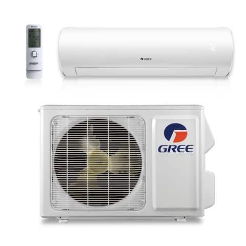 Gree SAP09HP230V1A - 9,000 BTU 38 SEER SAPPHIRE Wall Mount Ductless Mini Split A/C Heat Pump 208-230V (A/C & Heater)