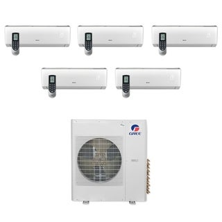 Gree MULTI42CLIV500 - 42,000 BTU Multi21+ Penta-Zone Wall Mount Mini Split A/C Heat Pump 208-230V (9-9-9-9-9) - A/C & Heater