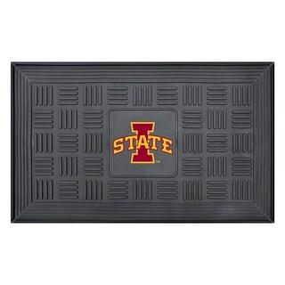NCAA Iowa State University Medallion Door Mat 19 in. x 30 in.