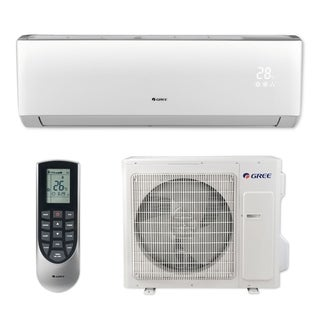 Gree VIR24HP230V1B - 24,000 BTU 20 SEER VIREO+ Wall Mount Ductless Mini Split A/C Heat Pump 208-230V (A/C & Heater)