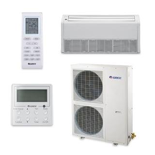 Gree UMAT42HP230V1AF-S - 42,000 BTU 16 SEER Floor Ceiling Ductless Mini Split A/C Heat Pump 208-230V (A/C & Heater)