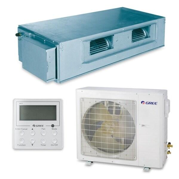 Gree UMAT30HP230V1AD-S - 30,000 BTU 16 SEER Concealed Duct Ductless Mini Split A/C Heat Pump 208-230V (A/C & Heater)
