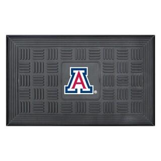 NCAA University of Arizona Medallion Door Mat 19 in. x 30 in.
