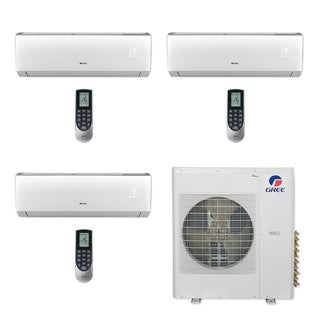 Gree MULTI42CVIR306 - 42,000 BTU Multi21+ Tri-Zone Wall Mount Mini Split A/C Heat Pump 208-230V (9-12-24) (A/C & Heater)
