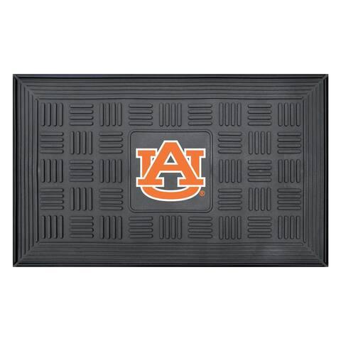 NCAA Auburn University Medallion Door Mat 19 in. x 30 in.