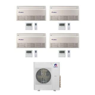 Gree MULTI42CFLR405 - 42,000 BTU Multi21+ Quad-Zone Floor/Ceiling Mini Split A/C Heat Pump 208-230V (9-12-12-12) - A/C & Heater