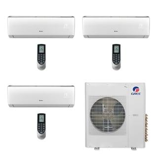 Gree MULTI42CVIR305 - 42,000 BTU Multi21+ Tri-Zone Wall Mount Mini Split A/C Heat Pump 208-230V (9-12-18) (A/C & Heater)