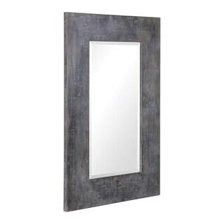 Uttermost Jarrell Galvanized Metal Mirror - Antique Silver - 55.875x35.875x1.625
