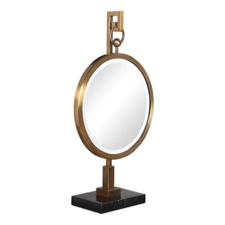 Uttermost Nori Bronze Tabletop Mirror - 12x22x5