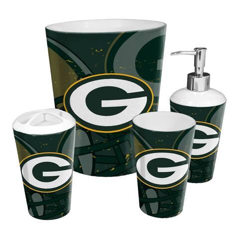 Packers 4-piece Bath Set